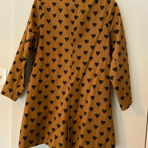 Amazing Heart Trench Coat - Urban Outfitters